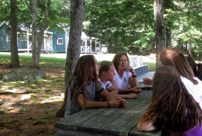 Cómo preparar los niños para un campamento de verano.