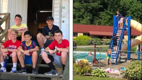 Visitando a nuestros Campers…