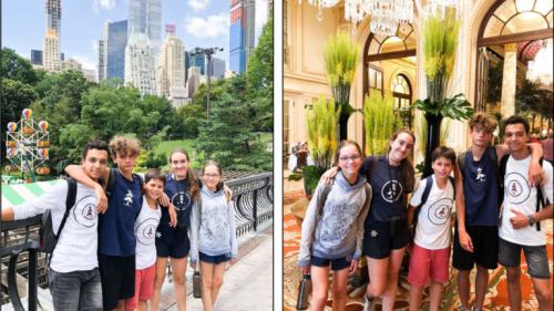 Visitando NY, Boston, Montreal, Toronto y varias Universidades….