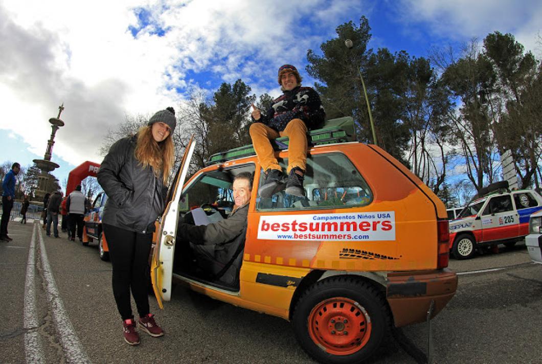 Equipo Bestsummers en Raid Solidario